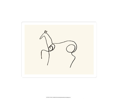 The Horse Serigraph by Picasso
