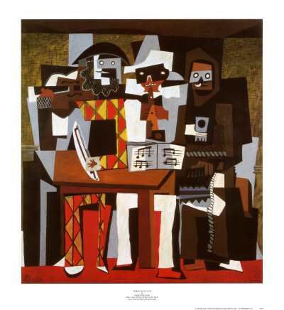 Picasso - Three Musicians