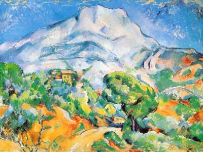 Cezanne - La Montagne de St Victoire