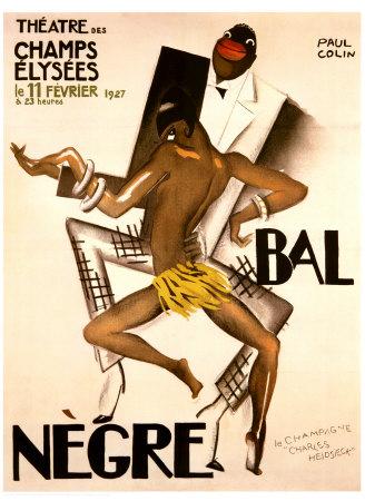 Bal Negre Poster 1927