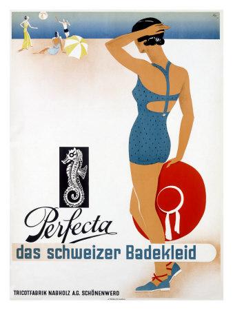 Perfecta Swimwear Ad