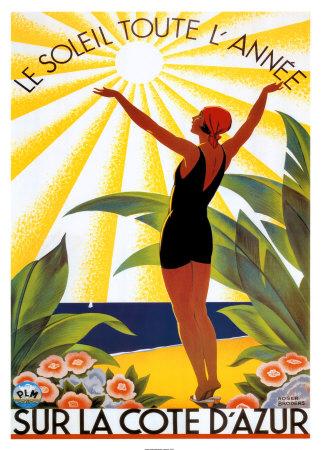 Roger Broders Soleil Poster
