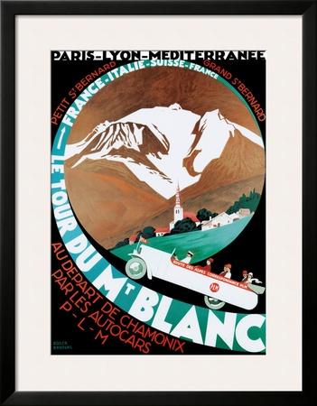 Mont Blanc Poster for PLM