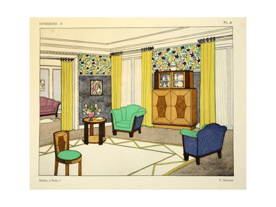 Room designed by F. Nathan