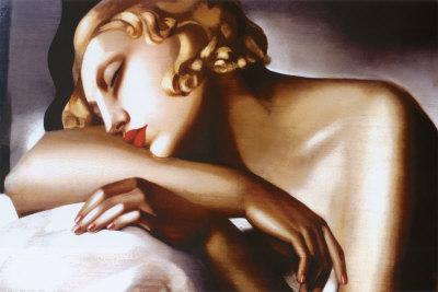 Tamara de Lempicka - La Dormeuse