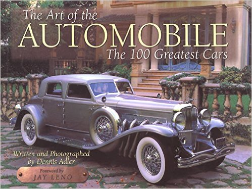 The Art of the Automobile by Dennis Adler - Cover