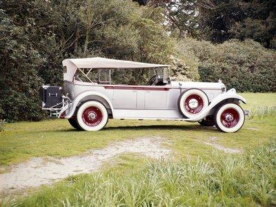 1920s Luxury Packard 640 Automobile