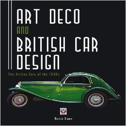 Art Deco and British Car Design Book Cover