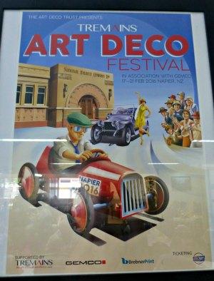 Art Deco Festival Poster 2016
