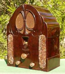 Australian Art Deco Radio Set