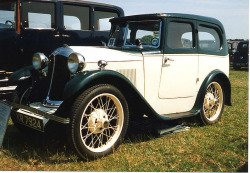 Austin Seven 1931 Swallow.  Photo by Malcolm Asquith.