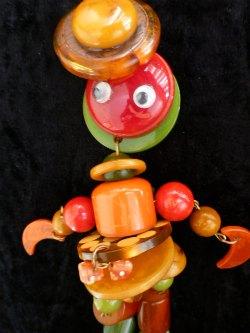 Bakelite Crib Toy by Jan Carlin