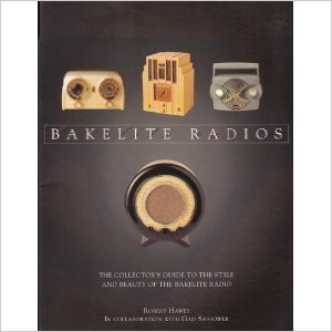 Book Cover - Bakelite Radios by Robert Hawes