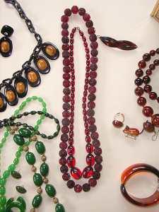Selection of Bakelite Jewelry
