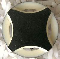 Art Deco Celluloid Button