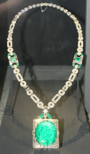 Cartier MacKay Emerald Pendant by Andrew Bossi