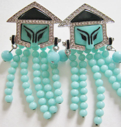 China Men Earrings by George Fouquet