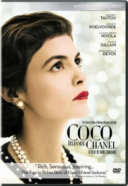 Coco Before Chanel DVD Cover