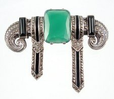 Theodore Fahner Brooch 1927, Photo Cathy Gordon