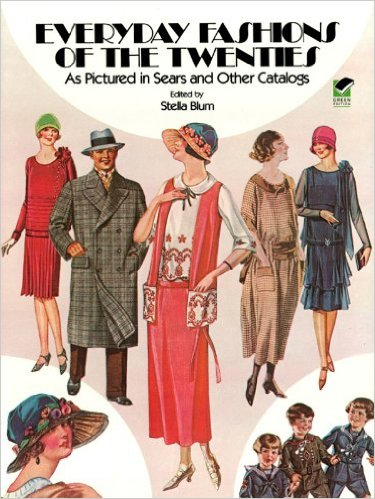 Everyday Fashions of the 1920s Book Cover