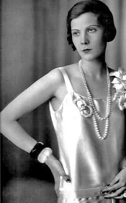 Flapper Natalia Paley Wearing Bangles