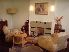 Geffrye museum Art Deco living room