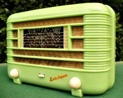 Little Nipper Radio in Rare Green Colour