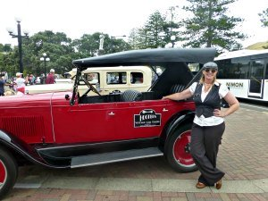 Vintage Car for Hire with Lady Driver