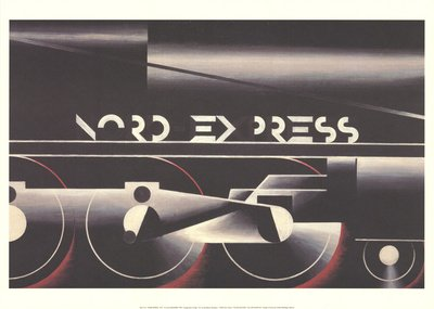 Nord Express by Cassandre