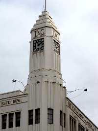 The Mercury building Hobart
