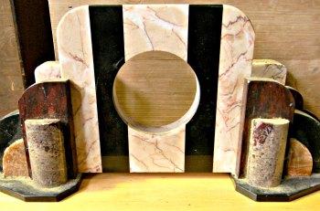 Marble Garniture Missing Clock
