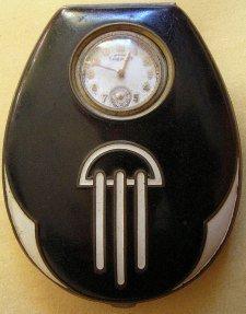 Art Deco Watch Compact