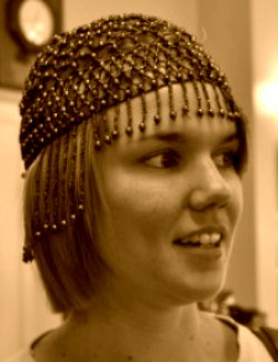 Beaded cloche from the 1920s