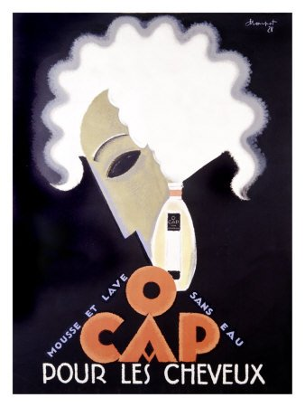 Art Deco Poster O Cap by Charles Loupot