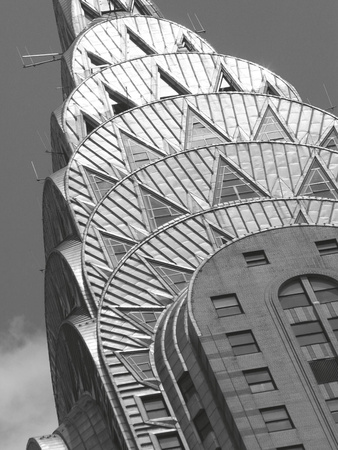 Detail of the Chrysler Building