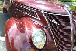 Art Deco Car Radiator