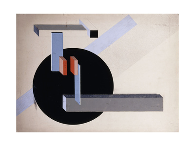 El Lissitzky - Proun 89 (Kilmansvaria)