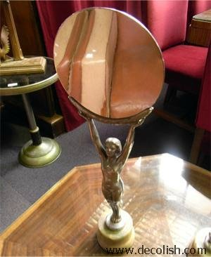Art Deco Naked Lady Mirror