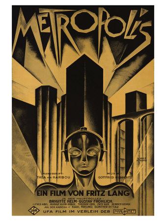 Metropolis 1926 Movie Poster
