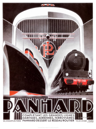 Poster - Panhard Lines by Alexis Kow