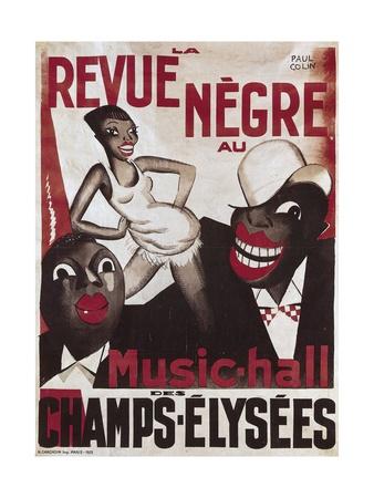 Revue Negre Poster