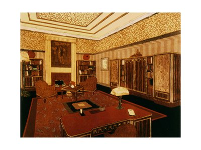 A 1924 Art Deco Office By Paul Follot