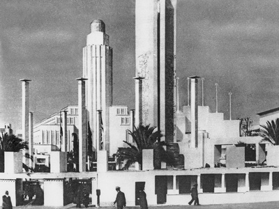 Art Deco Architecture at the 1925 Paris Expo