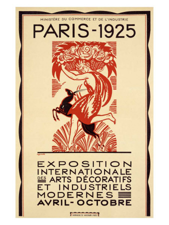 Robert Bonfils Poster for the Paris Expo 1925