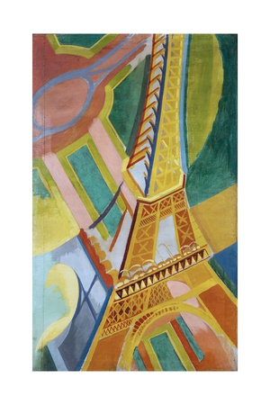 Robert Delaunay - Tour Eiffel