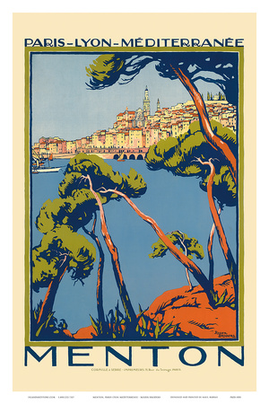Roger Broders French Railways Poster