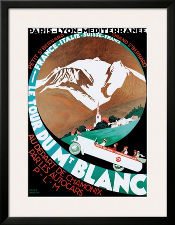 Mont Blanc Poster for PLM