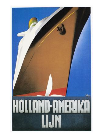 Holland America Line by Willem Ten Broek